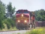 BNSF C44-9W 702