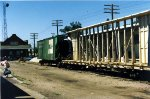 Damaged Rail cars