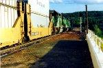 Westbound Sealand Stack Train