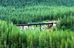 Trestle east of Glacier Park and east of Essex