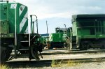 The many faces of Burlington Northern