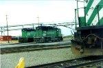 BN Units in the Portland Yard