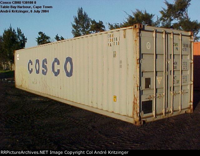 Cosco 42G1 CBHU 138108 0