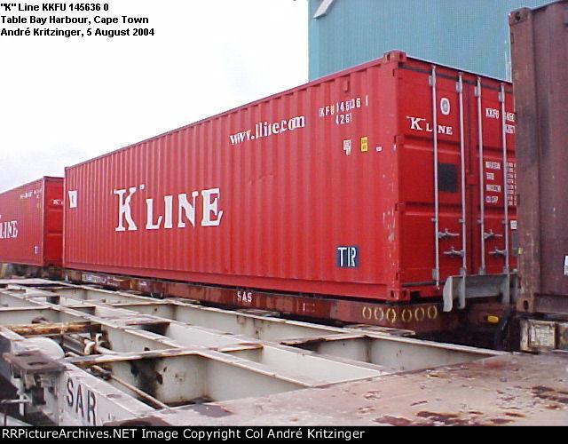 """K"" Line 42G1 KKFU 145636 0"