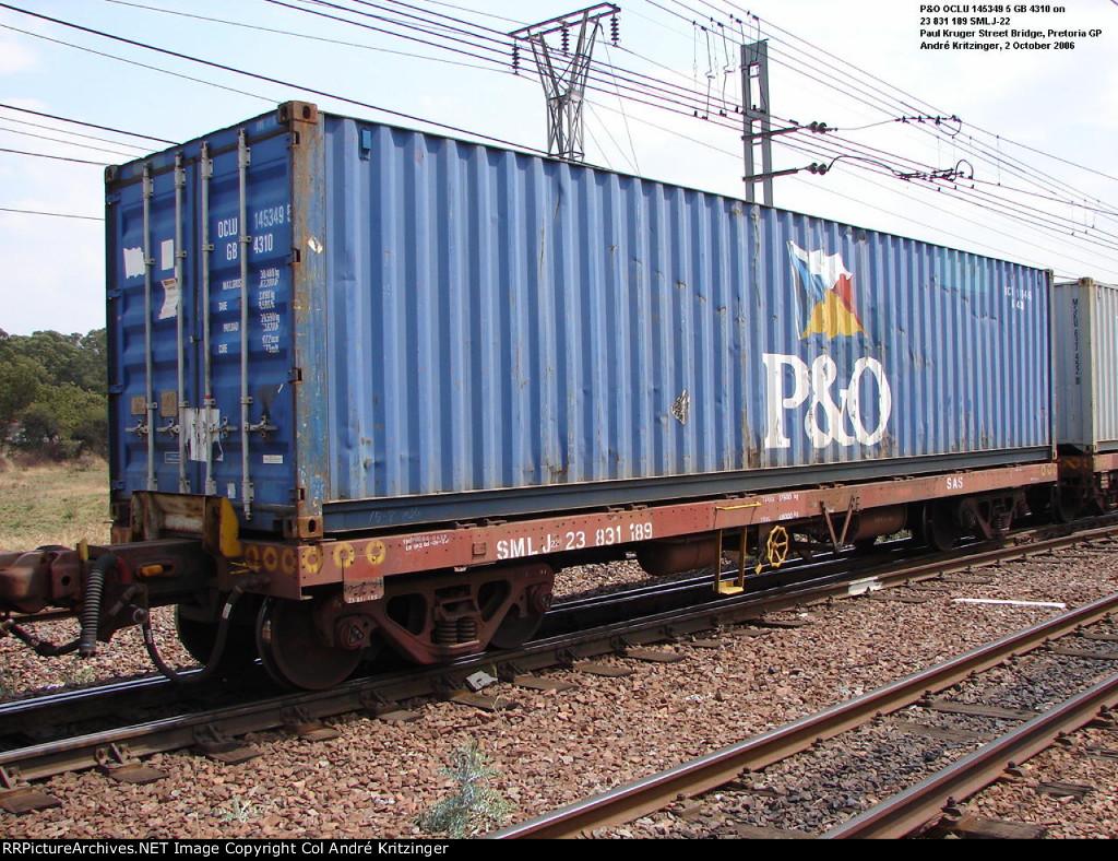 P&O 42G1 OCLU 145349 5