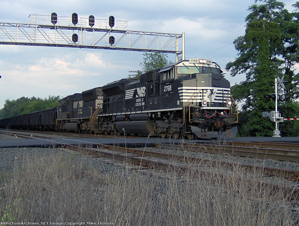 NS Harrisburg Line MP 95