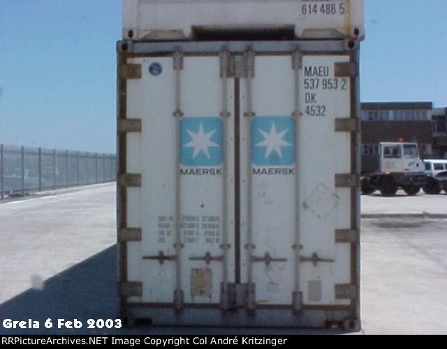 Maersk 45R1 MAEU 537953 2