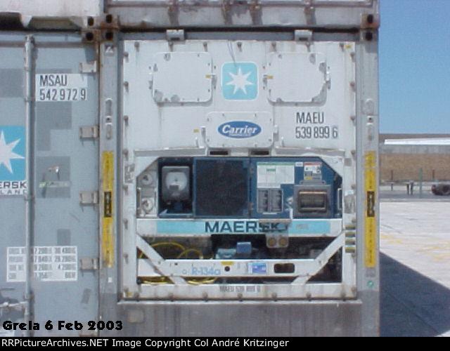 Maersk 45R1 MAEU 539899 6