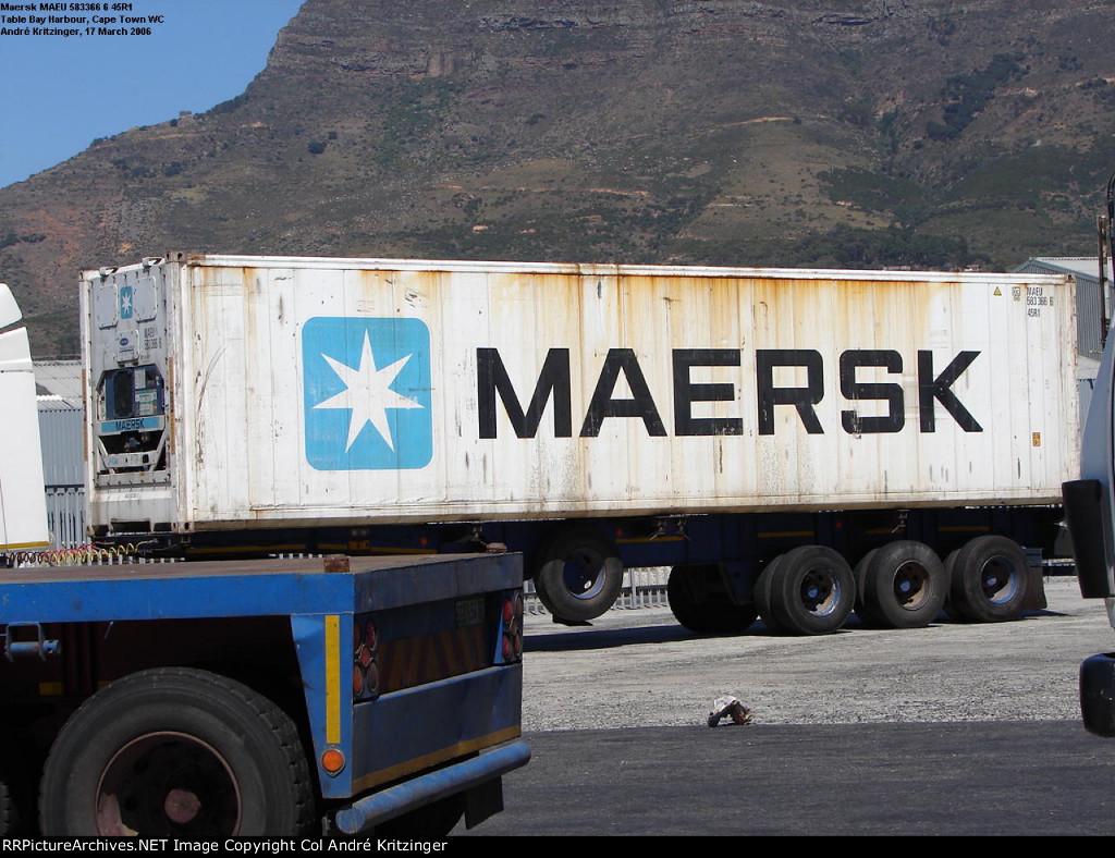 Maersk 45R1 MAEU 583366 6