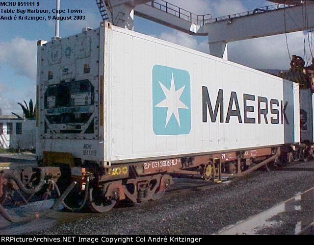 Maersk 45R1 MCHU 851111 9