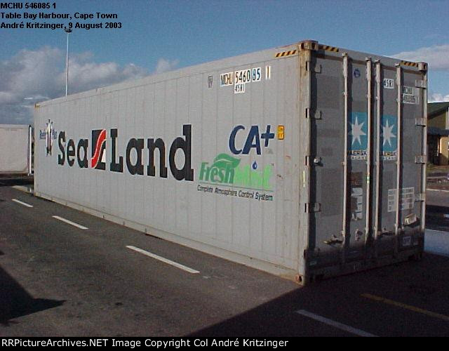 Maersk SeaLand 45R1 MCHU 546085 1