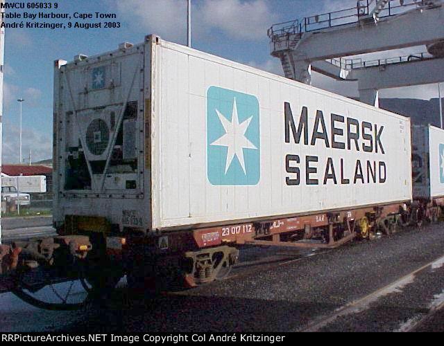 Maersk SeaLand 45R1 MWCU 605033 9
