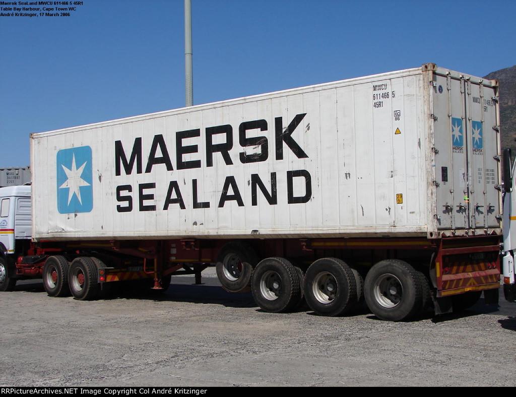 Maersk SeaLand 45R1 MWCU 611466 5
