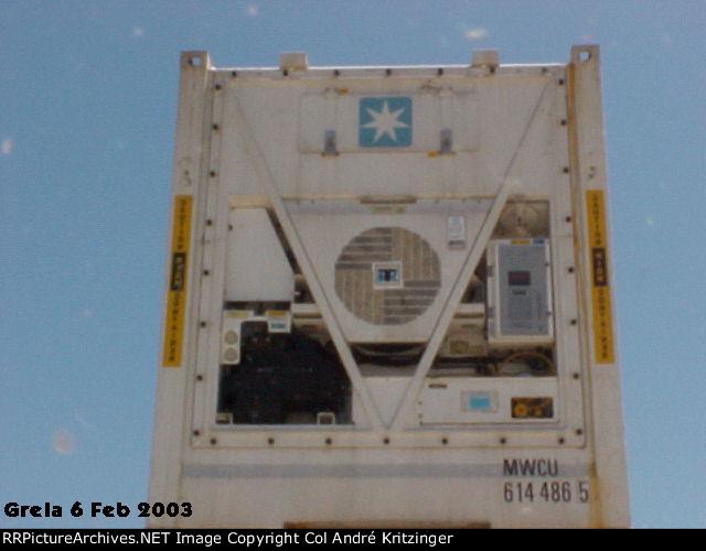 Maersk SeaLand 45R1 MWCU 614486 5