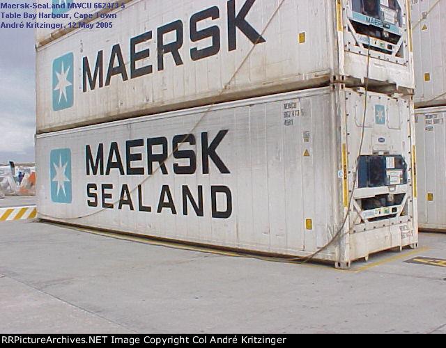 Maersk SeaLand 45R1 MWCU 662473 5
