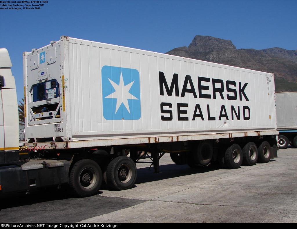 Maersk SeaLand 45R1 MWCU 678445 6