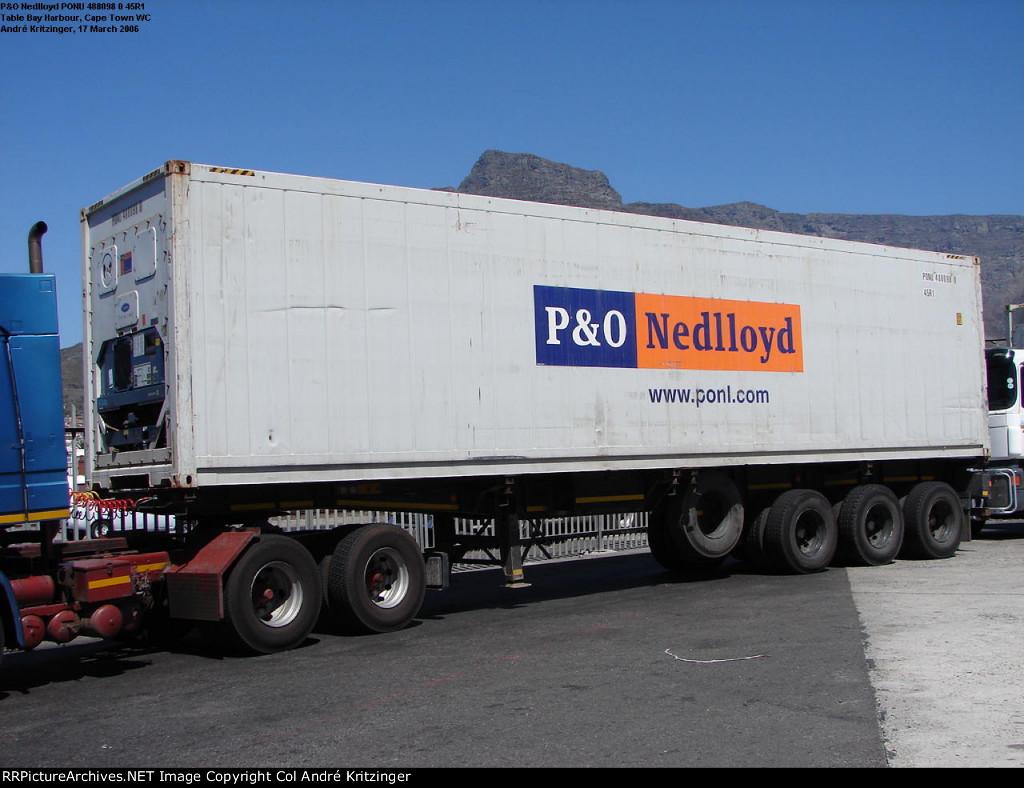 P&O Nedlloyd 45R1 PONU 488098 0