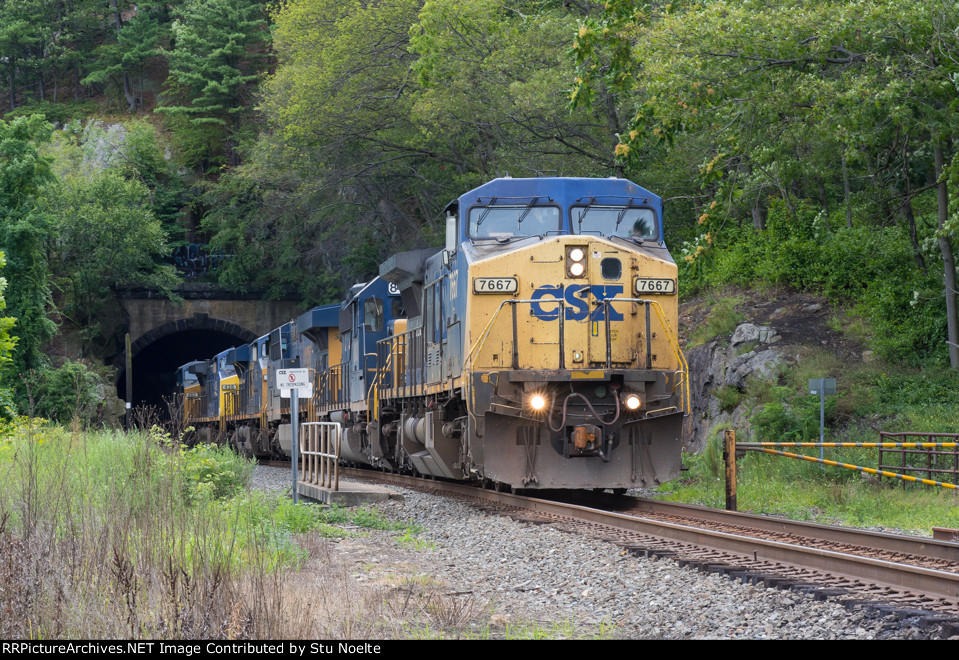 Northbound Mixed Freight