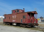 Norfolk Southern caboose used on the Bay Coast Railroad