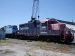 Bay Coast Railroad 2000 before being repainted