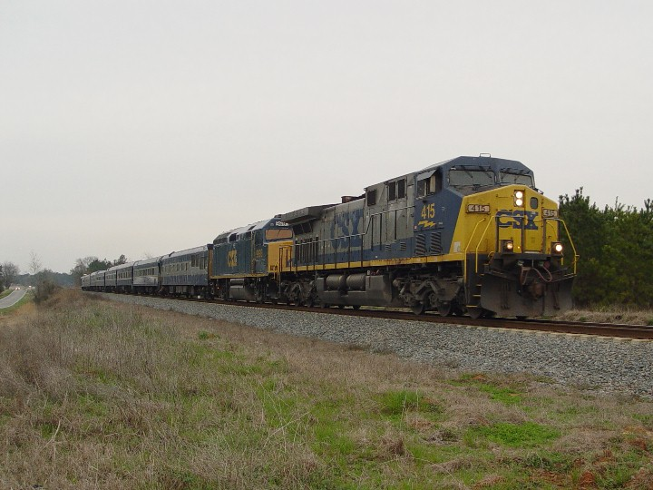 CSX OCS train