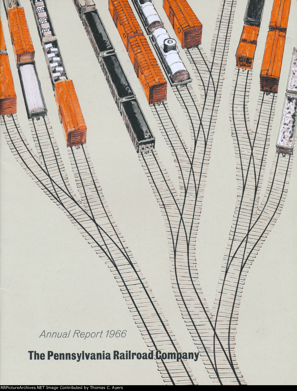 Annual Report Color Cover ~ 1966