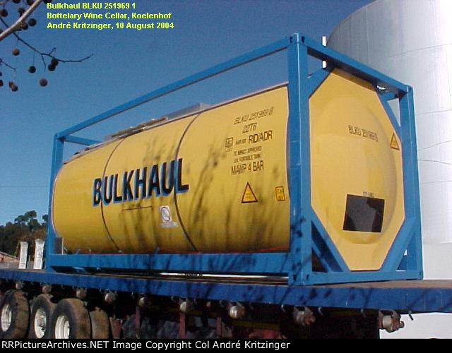 Bulkhaul 22T6 BLKU 251969 8