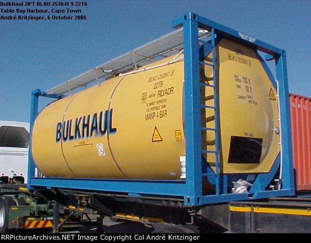 Bulkhaul 22T6 BLKU 253841 9