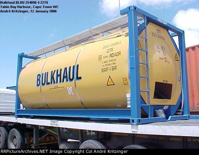 Bulkhaul 22T6 BLKU 254090 4