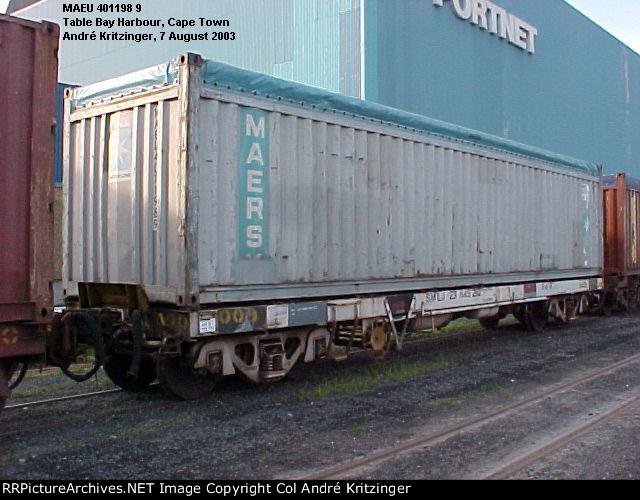 Maersk 42U1 MAEU 401198 9