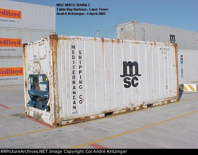 MSC 22R1 MSCU 361066 2