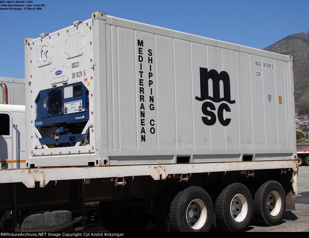 MSC 22R1 MSCU 361929 5