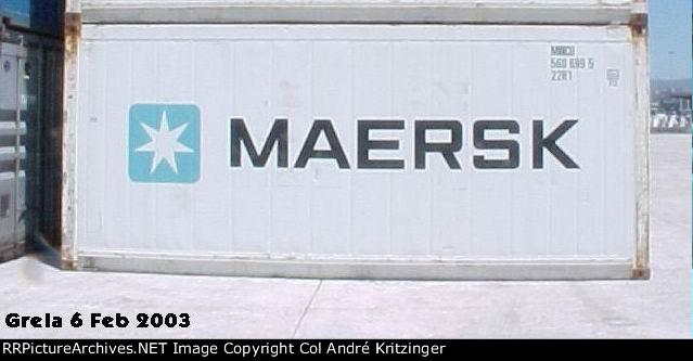Maersk 22R1 MWCU 560699 5