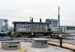 AMTK 564, EMD SW1200, at BN's Clyde Yard