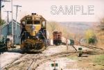 NECR/leased CN units at Palmer, Massachusetts