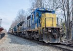 MEC 7627 and 2 other ex-CSX GE's power POAY west