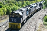 8221 Hauling an unloaded coal train at Picton NSW