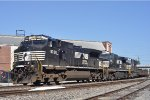 NS 9238 On NS 142 Westbound