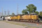 UP 6814 On CSX K 423 Southbound
