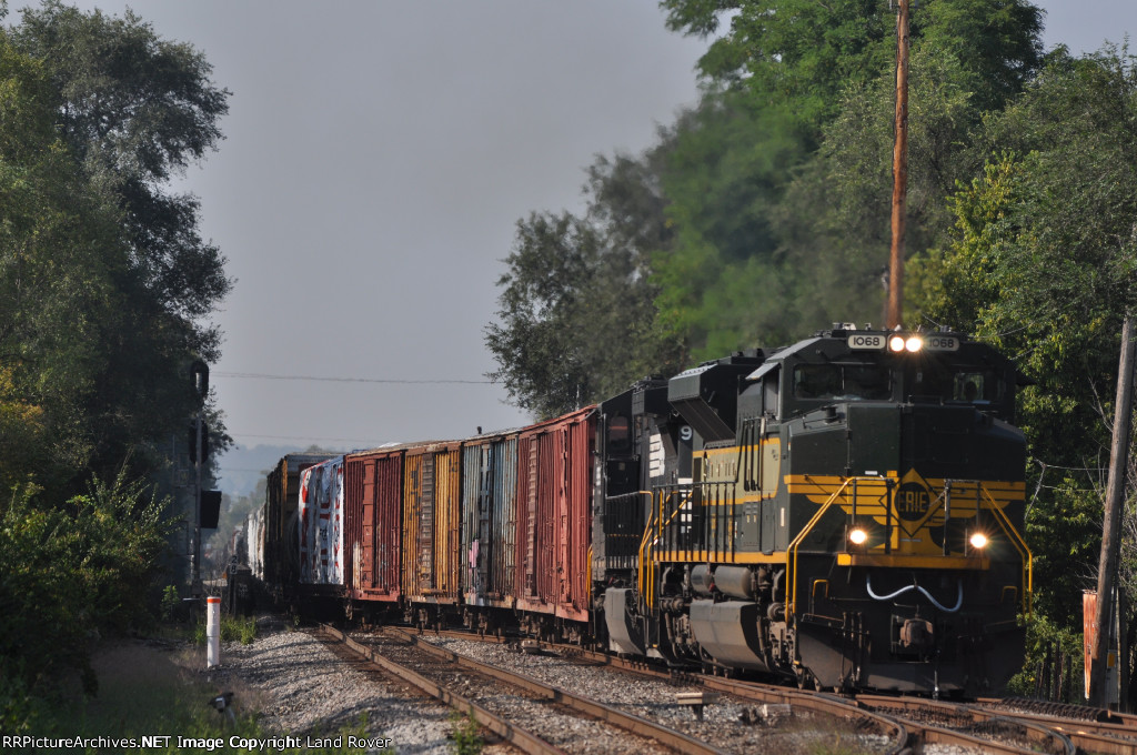 NS / Erie 1068 On NS 142 Westbound