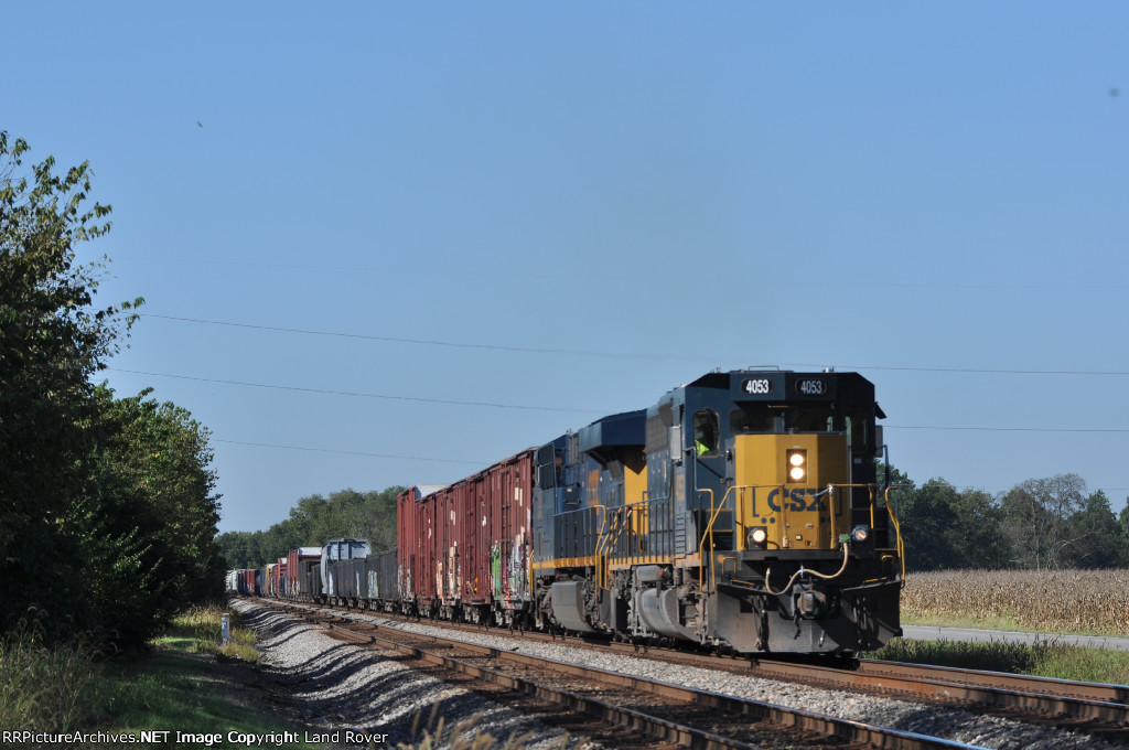 CSXT 4053 On CSX Q 506 Northbound
