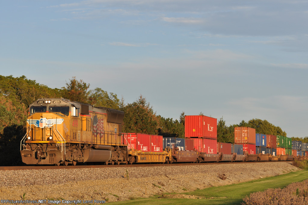 UP 4919 On NS 200 Westbound