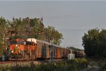 BNSF 1024 On CSX Q 254 Northbound