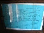 PRR 4666 PENNDOT inspection certificate