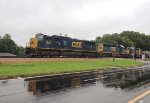 CSX SD70MAC 4571 and SD40-2's 8812 and 8212