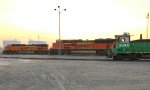 Evening's Arrival Glendive Railyard