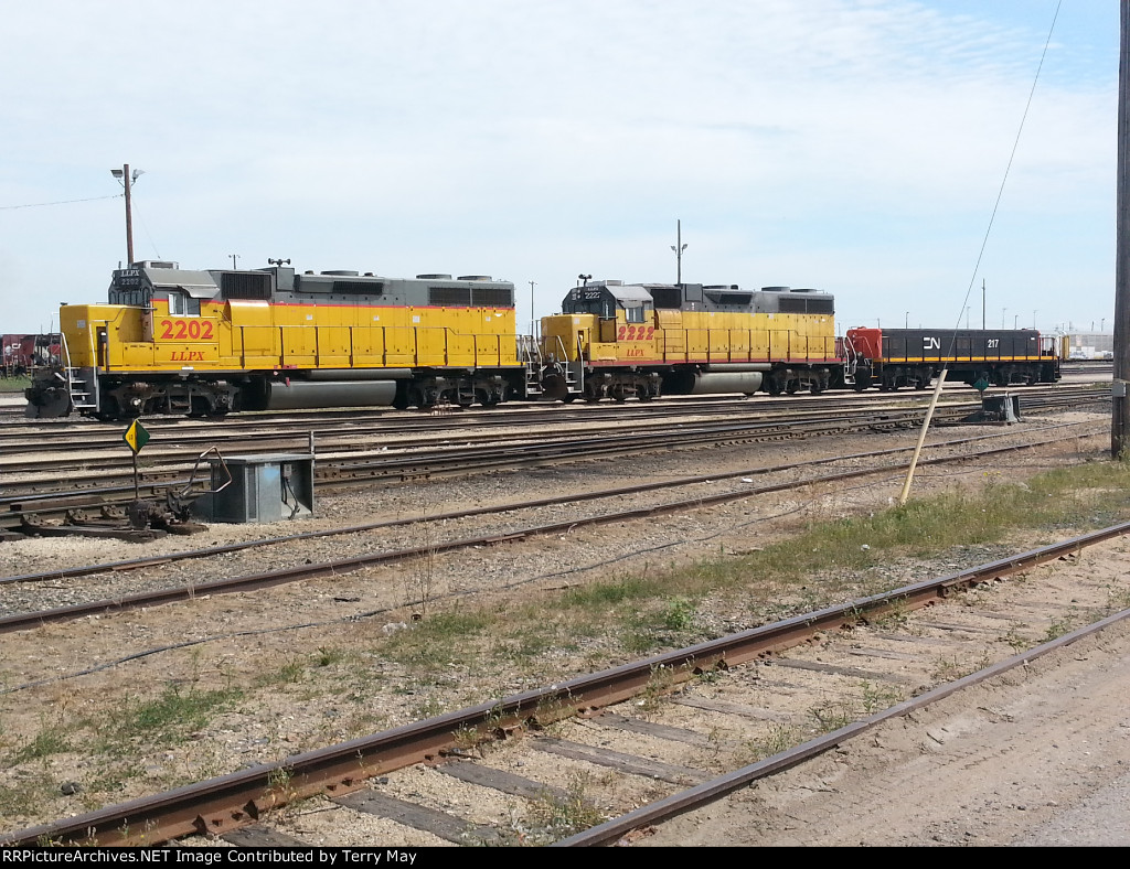 LLPX 2202 with LLPX 2222 with CN 217