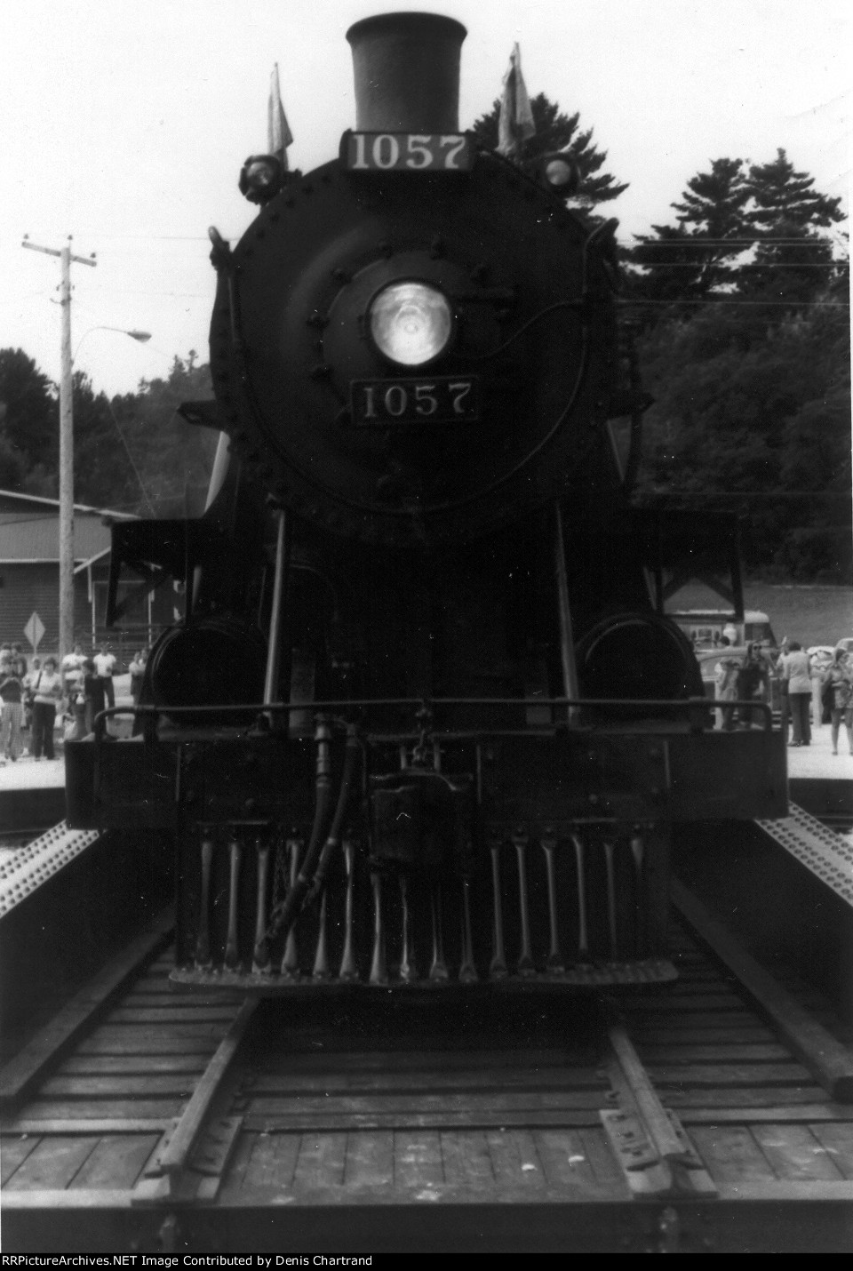 CPR 4-6-0 1057 Ottawa to Wakefield July 21st 1974