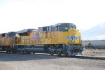UP 9073 The Newest SD -70AH In The Union Pacific Railroads Locomotive Roster.
