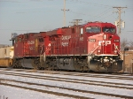 CP 8802 Leaves Bensenville with an intermodal train